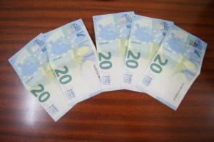 Le banconote false