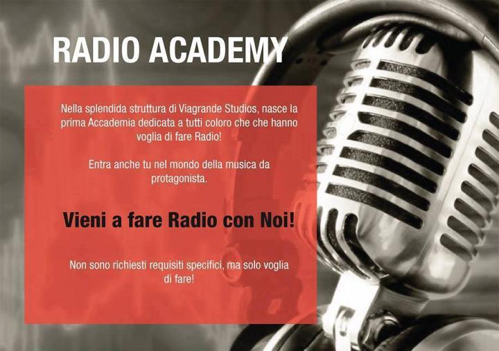 A Viagrande Studios l'Open Day del corso Radio Academy