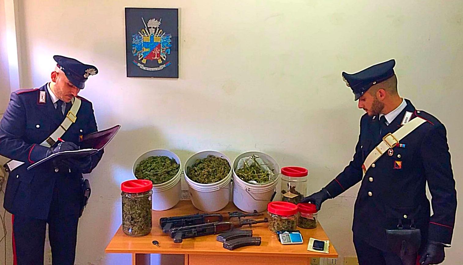 Scoperto deposito della droga nel quartiere zen di palermo for Deposito bilancio 2017 scadenza