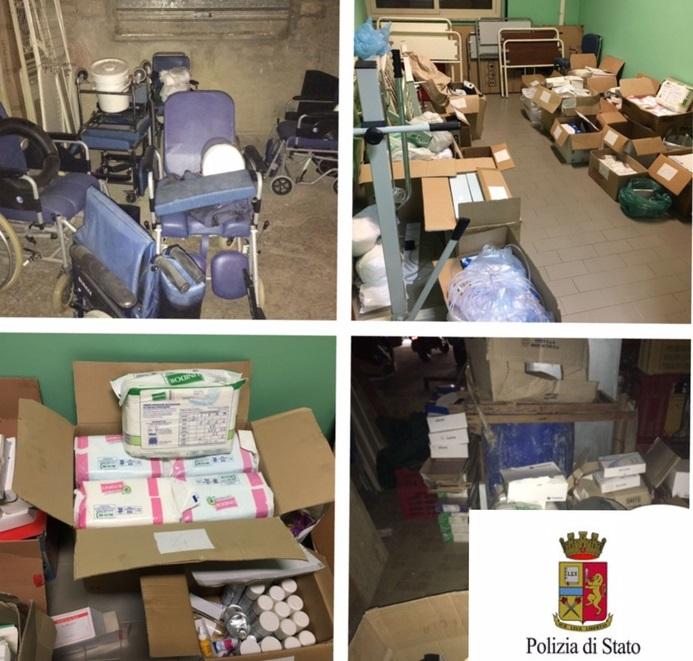 Sequestrati farmaci in agenzia onoranze funebri