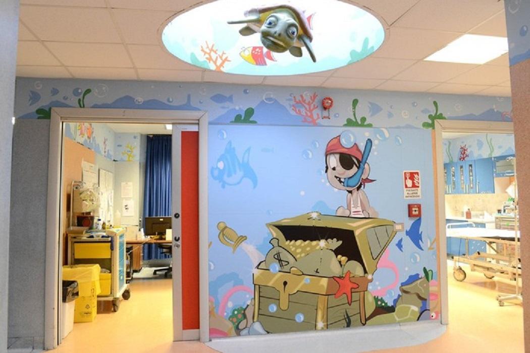 Risultati immagini per immagini reparto pediatrico garibaldi