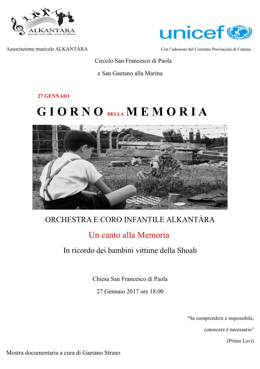 Canto della memorua - Locandina - UltimaTv