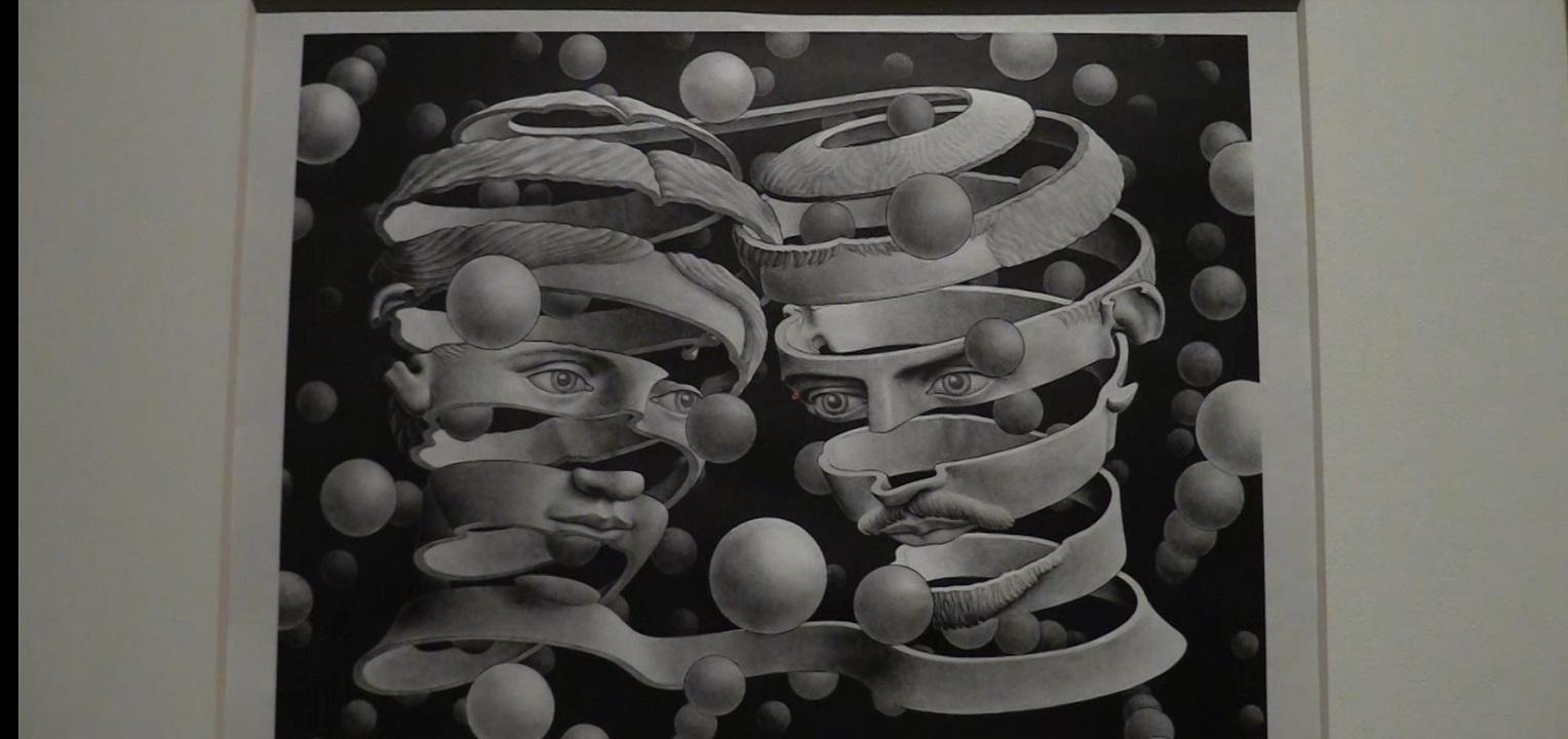 Catania la visione di escher in mostra a palazzo della for Escher mostra catania