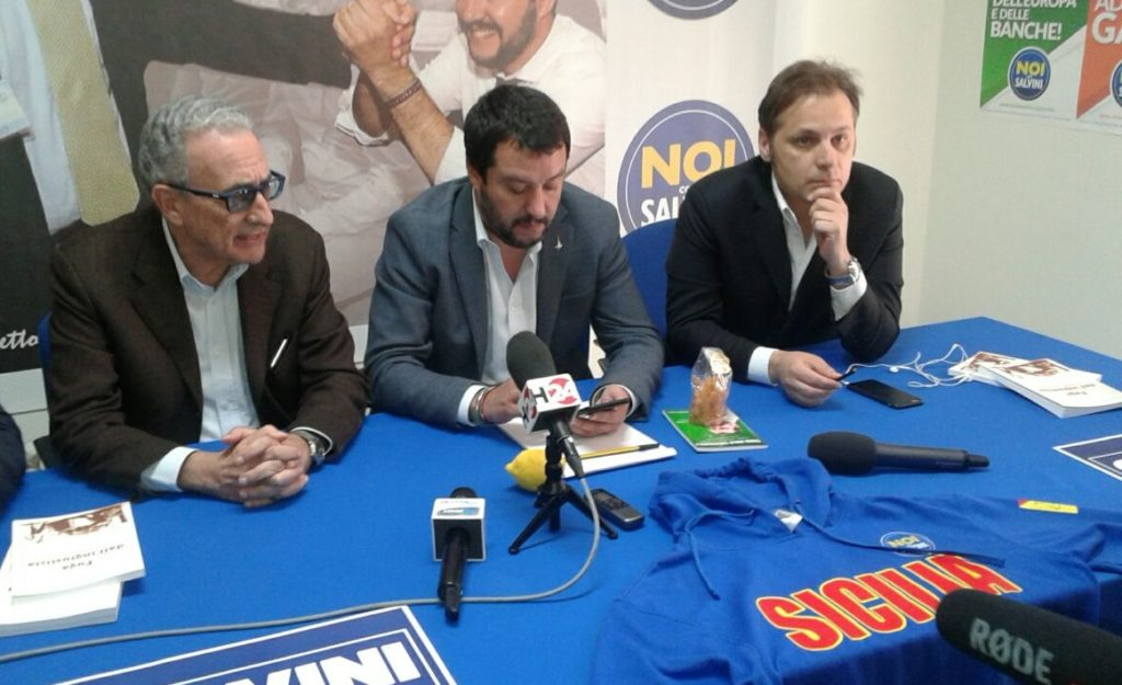 Salvini a Ct - UltimaTv