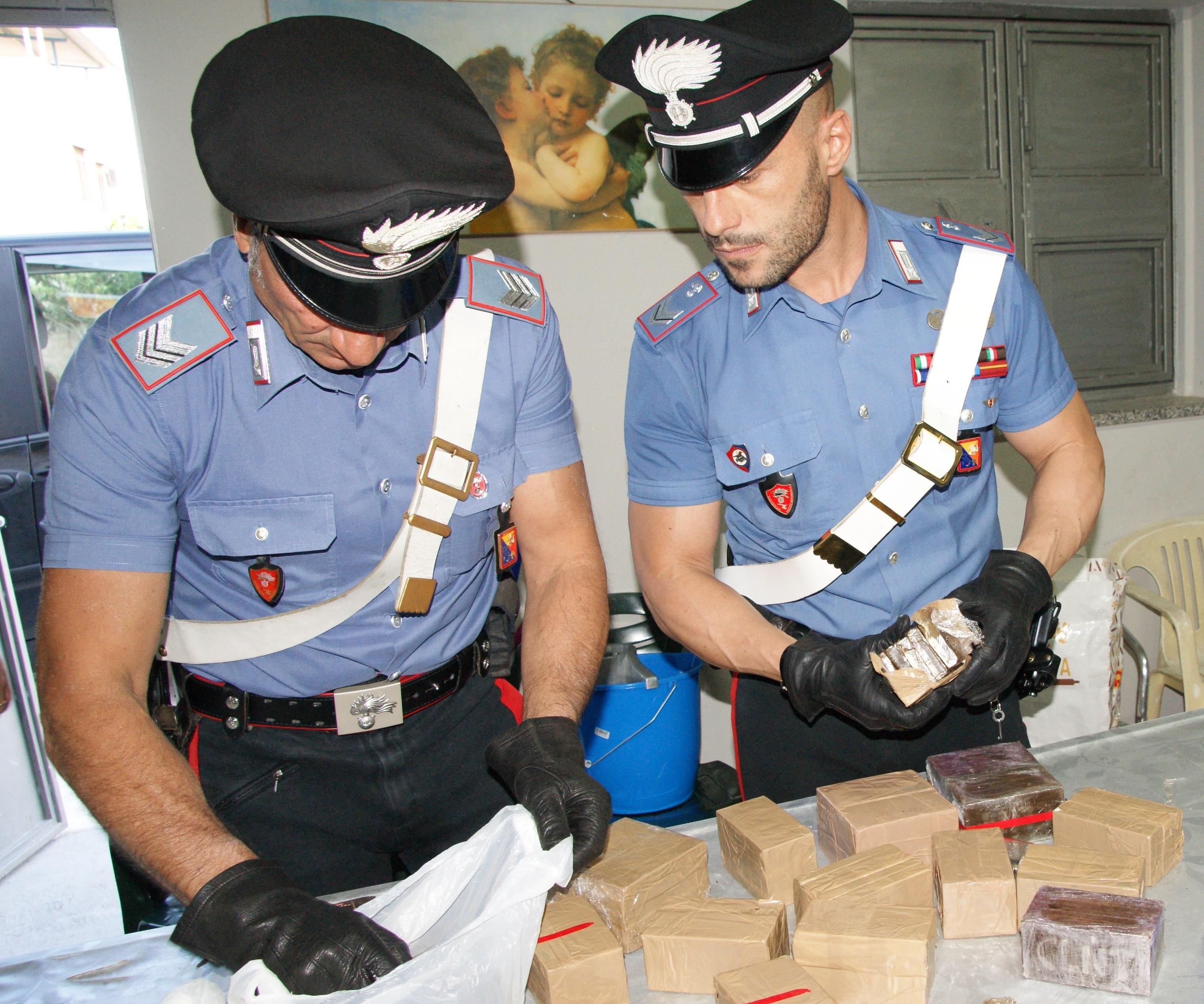 Palermo 3 kg di hashish in casa e soldi in contanti - Soldi contanti a casa ...