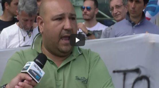 aeroporto Fontanarossa sit-in protesta lavoratori ex Sims-ultimatv