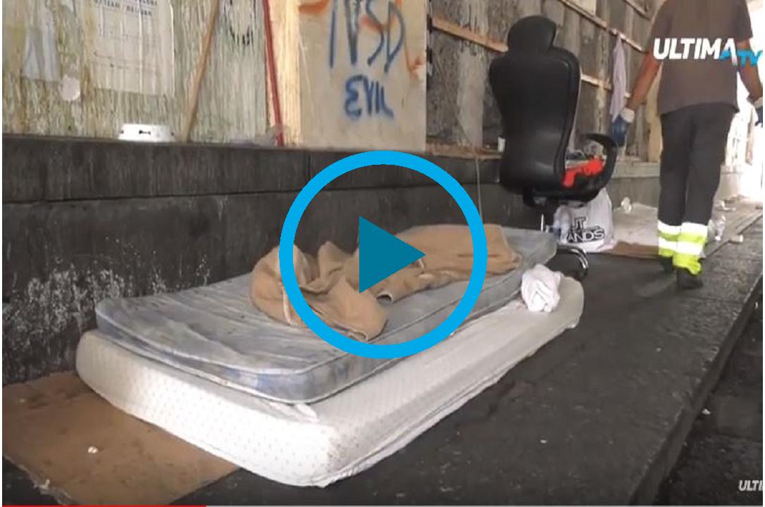 senzatetto morto a Catania-ultimatv
