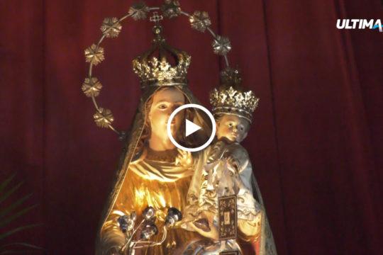 """Si celebra oggi la Madonna del Carmine, festa religiosa particolarmente """"sentita"""" a Catania. Tanti i devoti nel santuario di piazza Carlo Alberto."""