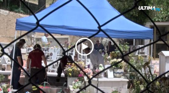 Le telecamere di UltimaTv sono andate a San Martino delle Scale dove proseguono le indagini dei carabinieri sul