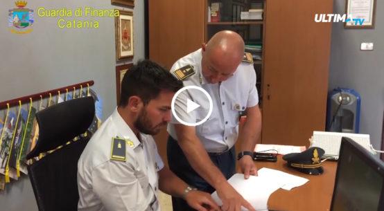 Sequestrati dalla Guardia di finanza 700 mila euro a Massimiliano Galloro, noto consulente finanziario catanese.