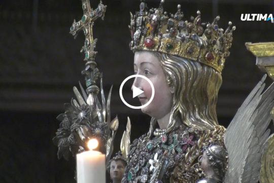 Microfoni e telecamere di Ultima Tv hanno seguito le celebrazioni estive in onore della patrona catanese Sant'Agata. La festa attira migliaia di persone.