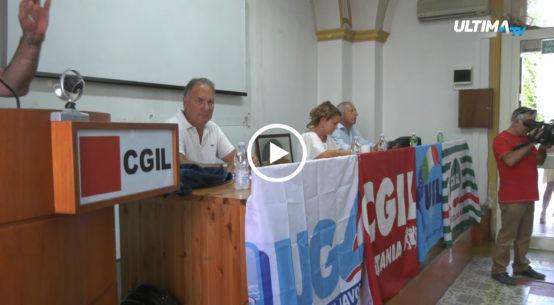 Riunione stamani del direttivo unitario di Cgil, Cisl e Uil sullo scottante tema del dissesto del Comune di Catania.