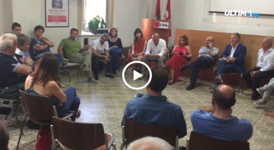 Cgil, CISL, UIL e Ugl di Catania insieme alle associazioni datoriali della città, stamattina si sono incontrati per un'assemblea unitaria in via Crociferi.