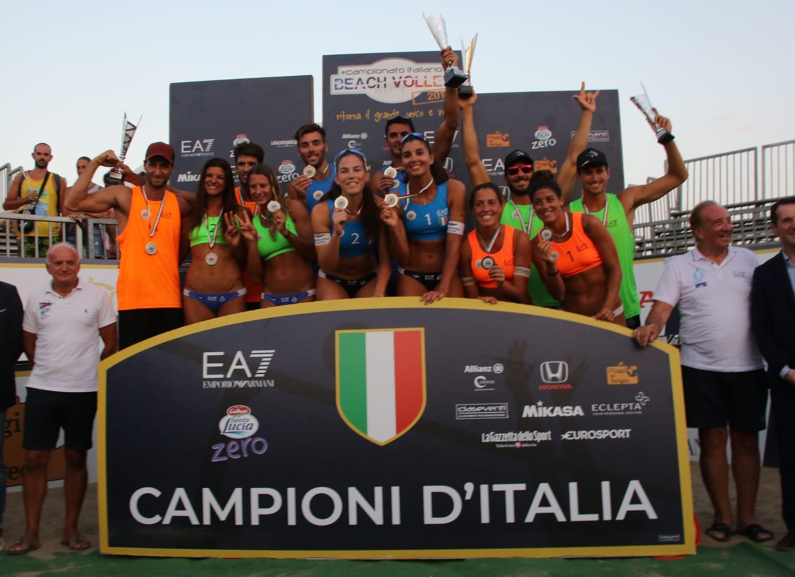 inali finali scudetto beach volley catania