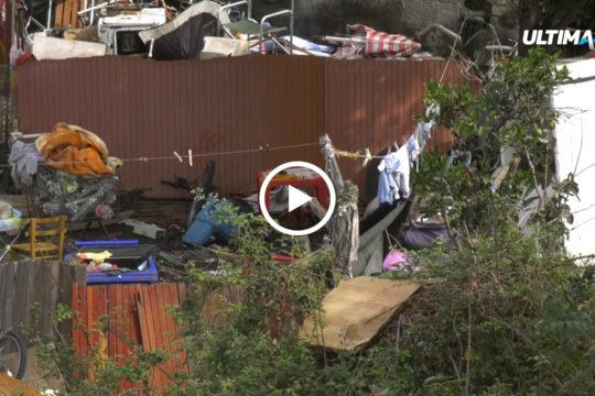 Verrà sgomberata a breve un'area privata in via Carrubella occupata abusivamente da una ventina di persone, compresi minori.