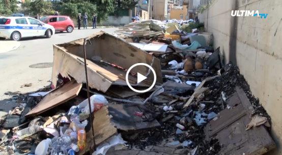 Cresce la preoccupazione tra i residenti di Brancaccio per una discarica abusiva con rifiuti di ogni genere.