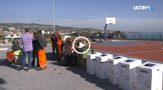 Catania partecipa alla settimana europea sulla riduzione dei rifiuti. All'evento hanno partecipato diverse scuole e associazioni di volontariato.