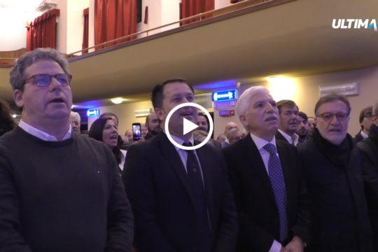Il leader di Forza Italia in Sicilia Gianfranco Miccichè. Ieri a margine di un incontro politico del partito ha ribadito ancora una volta l'intenzione di riunire i moderati in vista delle elezioni europee.