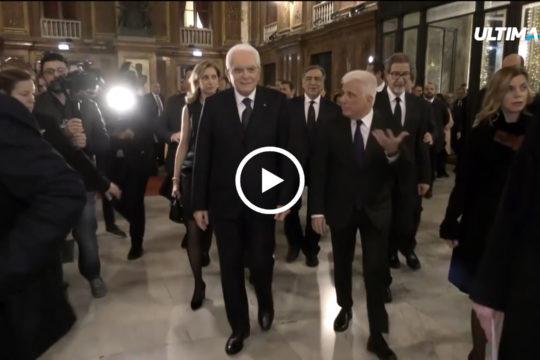 Ieri sera il presidente della Repubblica Sergio Mattarella e' intervenuto nel corso della cerimonia dedicata alla conclusione dell'anno di Palermo, capitale italiana della cultura.