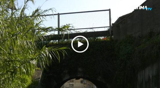 Ponte Spagnola sulla statale 114, questa mattina sopralluogo dell'assessore regione alle Infrastrutture Marco Falcone. Stanziati 250mila euro.