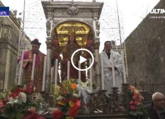 In occasione dell'apertura delle celebrazioni per il 350° anniversario dell'eruzione dell'Etna del 1669, l'Arcivescovo metropolita di Catania, Salvatore Gristina,nel corso del solenne pontificale, ha aperto l'anno Giubilare straordinario per la citta' etnea.
