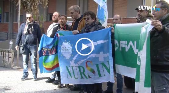Furti nel parcheggio, pagamenti in ritardo, carenza del personale. Sit-in di protesta questa mattina dei sindacati per attenzionare i problemi quotidiani al civico del Palermo.