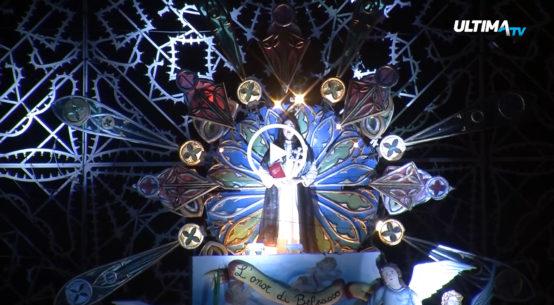 A Belpasso entrano nel vivo i festeggiamenti in onore di Santa Lucia. Ieri sera la prima rappresentazione scenica con i carri.