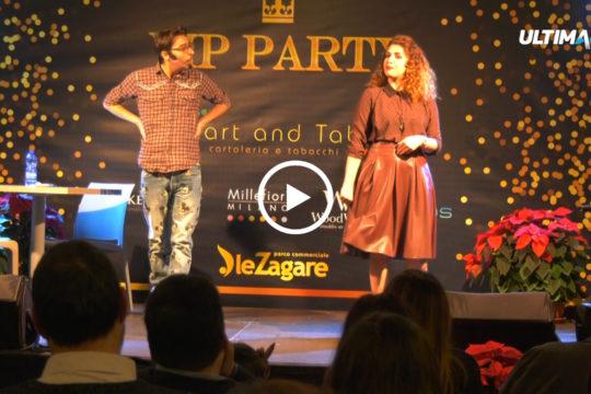 """Abbiamo incontrato il duo comico """"I Soldi Spicci"""" durante l'inaugurazione di """"Cart and Tab"""". Punto vendita che si trova al centro commerciale """"Le Zagare""""."""