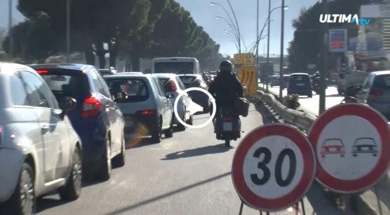 Ripartono i nuovi lavori di manutenzione in Viale Regione Siciliana fra i disagi al traffico e le preoccupazioni degli automobilisti.
